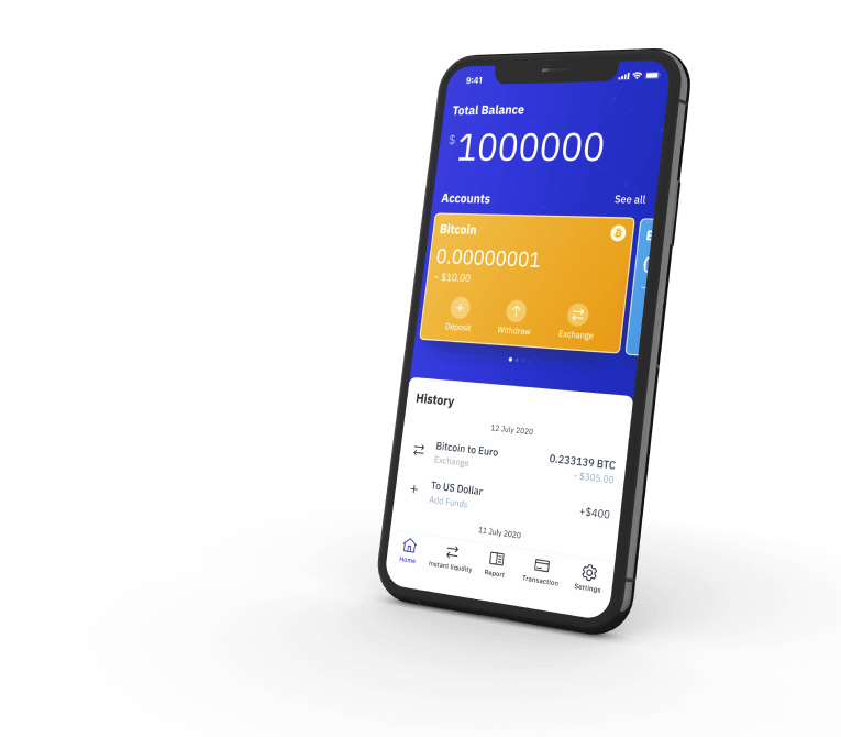 Crosschange bank app